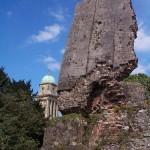 Remains of Bridgnorth Castle